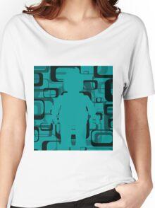 Retro Minifig Art  Women's Relaxed Fit T-Shirt