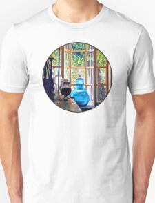 Blue Apothecary Bottle Unisex T-Shirt