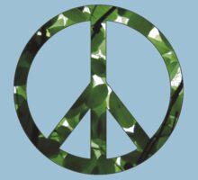 Green Peace One Piece - Short Sleeve