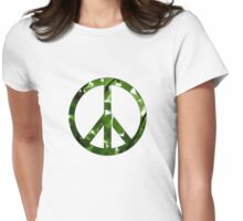 Green Peace Womens Fitted T-Shirt