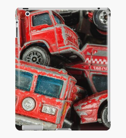 Toy Cars - Red iPad Case/Skin