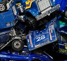 Toy Cars - Blue by zingarostudios