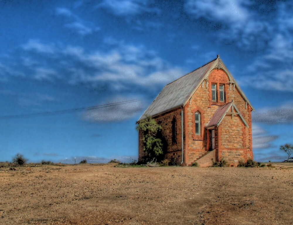 Outback Church by Rod Wilkinson