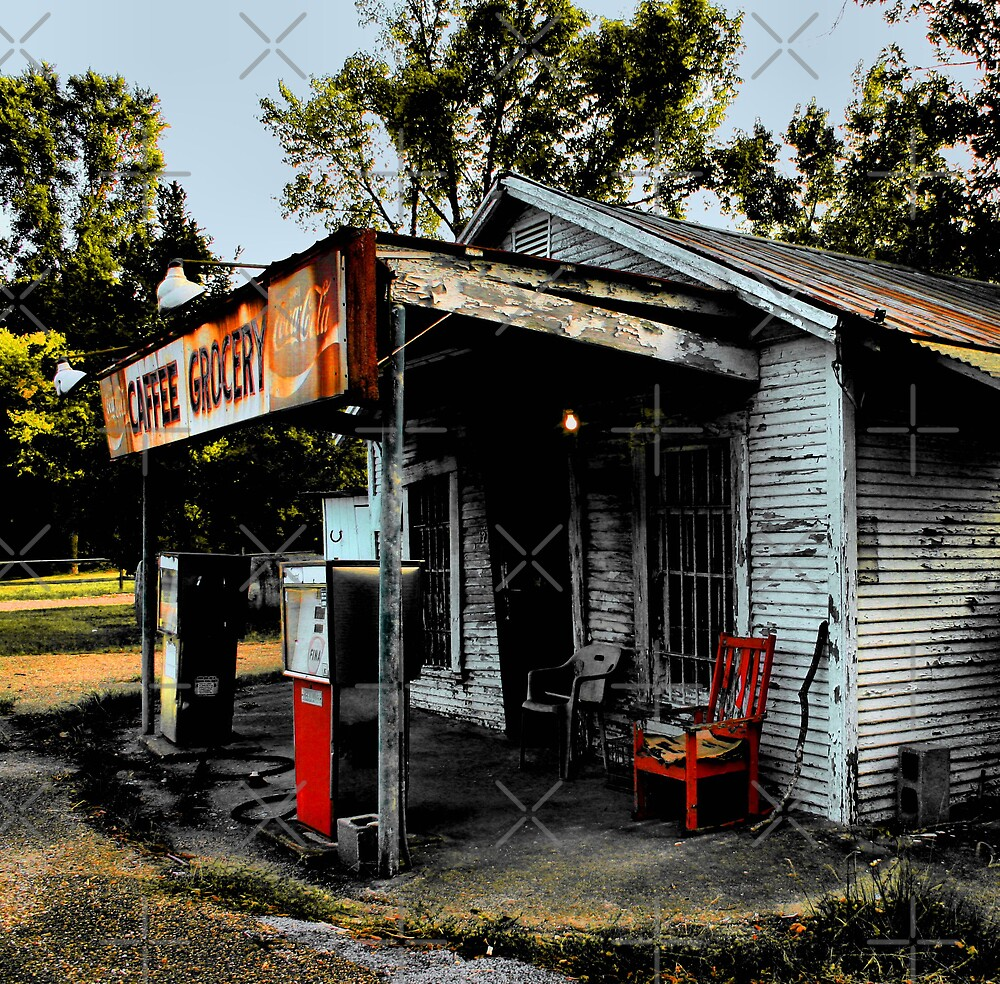 Caffee Grocery by Lisa G. Putman