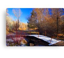 Waking Up To Winter Canvas Print