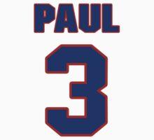 Basketball player Chris Paul jersey 3 by imsport