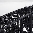 Gritty City 1 - Harbour Bridge Climbers by Sara Lamond
