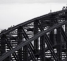 Gritty City 1 - Harbour Bridge Climbers by Sara Lamond
