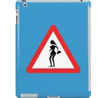 Caution Prostitute (Attenzione Prostitute) iPad Case/Skin