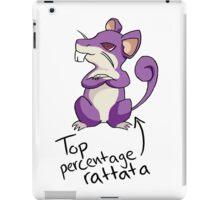 Top Percentage Rattata iPad Case/Skin
