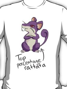 Top Percentage Rattata T-Shirt
