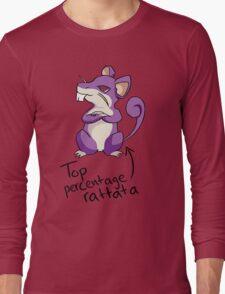 Top Percentage Rattata Long Sleeve T-Shirt