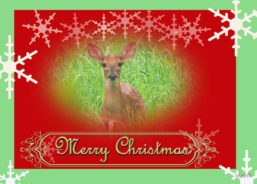 deery christmas by budrfli