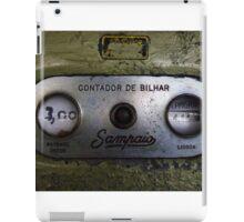 Contador de Bilhar  iPad Case/Skin
