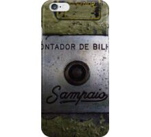 Contador de Bilhar  iPhone Case/Skin