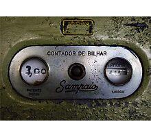 Contador de Bilhar  Photographic Print
