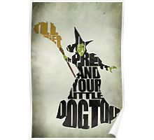 Wicked Witch Of The West Poster
