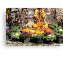 From The Good Earth - A Fruitful Harvest Canvas Print