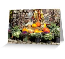 From The Good Earth - A Fruitful Harvest Greeting Card