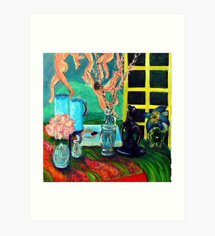 Still LIfe After Matisse Art Print