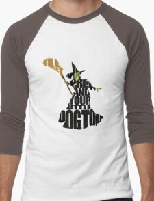 Wicked Witch Of The West Men's Baseball ¾ T-Shirt