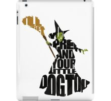 Wicked Witch Of The West iPad Case/Skin