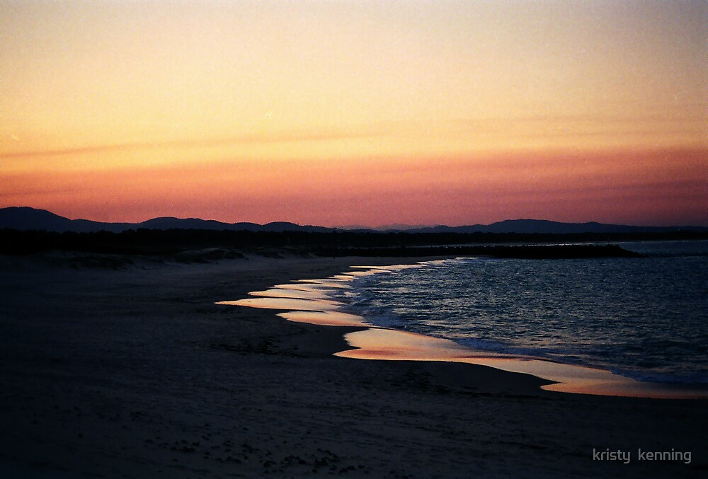 peach beach by kristy  kenning