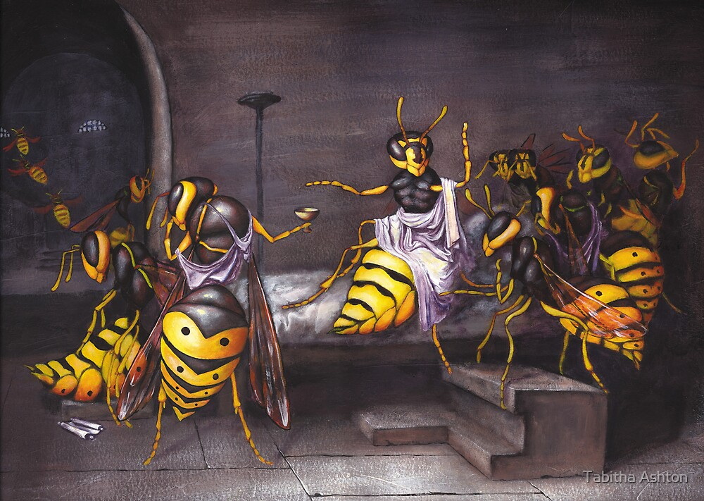 The Death of a Wasp by Tabitha Ashton