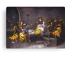 The Death of a Wasp Canvas Print