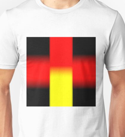 Black - Yellow - Red Unisex T-Shirt