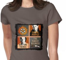 Supernatural - The Family Business Womens Fitted T-Shirt