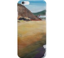 Irish Coast Near County Wexford iPhone Case/Skin