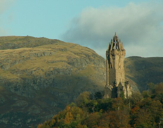 The Wallace Monument by countrypix