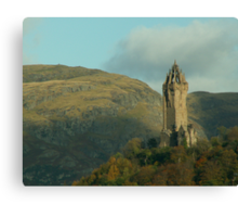 The Wallace Monument Canvas Print