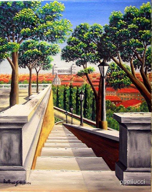 ROMA-Scalinata del Pincio 43-2004 by pbellucci