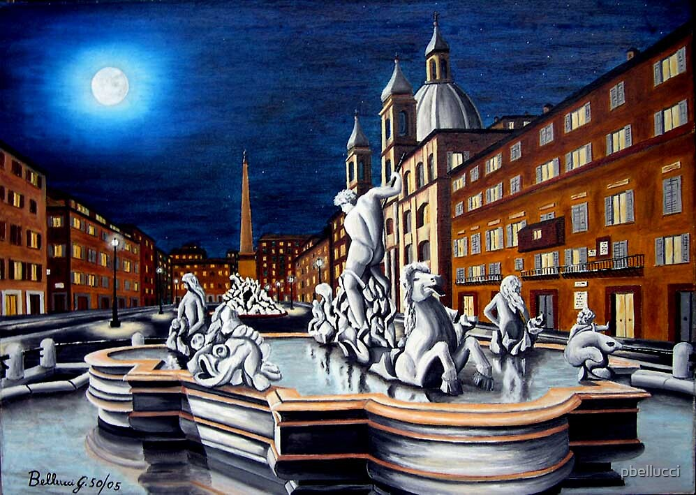 ROMA-Piazza Navona 50-2005 by pbellucci