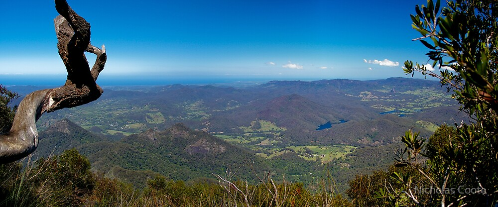 A View from Mt Warning by Nicholas Coote