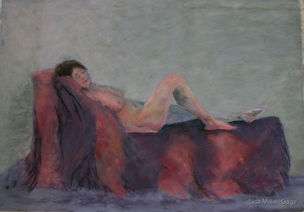 Annette in Pastel by Lisa Miller-Gage