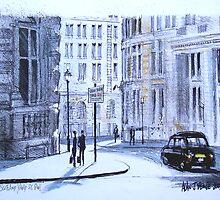 Great Scotland Yard Street, Whitehall, London by MrCreator