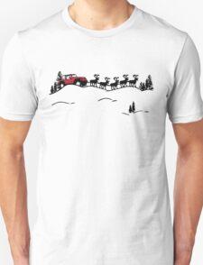 Santa Drives A Jeep T-Shirt