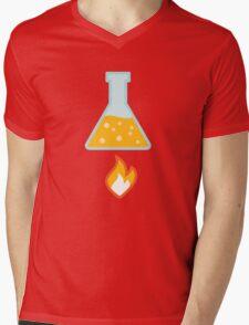 Apply Heat Mens V-Neck T-Shirt