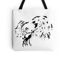 Tribal Phoenix - Black Tote Bag
