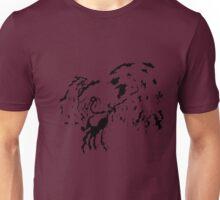 Tribal Phoenix - Black Unisex T-Shirt