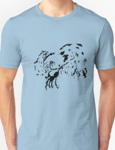 Tribal Phoenix - Black T-Shirt