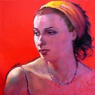 Portrait of Wendy by Roz McQuillan