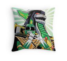 MMPR - Dragonzord Throw Pillow