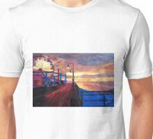 Santa Monica Pier at Dawn Unisex T-Shirt