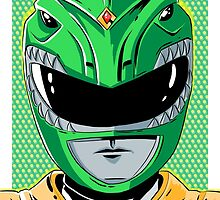 MMPR - Green Ranger by averagejoeart