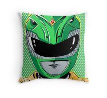 MMPR - Green Ranger Throw Pillow