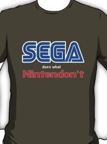 SEGA Does What Nintendon't T-Shirt